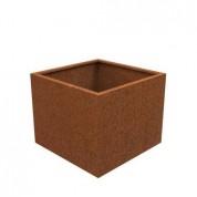 ANDES cortenstaal bloembak 100x100x80